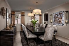 This Dining Room is Gorgeous from Top to Bottom