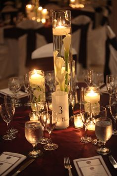 """DIY table numbers Jessica & Navid say """"I do"""" 9.1.13 » Ef Weddings & Events AS Photography"""