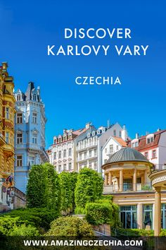 Karlovy Vary (a. Carlsbad) is a town in the west of Czechia. It is very a famous spa resort, visited by many celebrities from all over the world. All Over The World, Around The Worlds, German Names, International Film Festival, Resort Spa, Cities, Wanderlust, Europe, English
