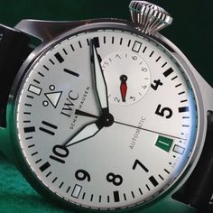 """*Blog Update - Read iN!* #IWC 46mm Big Pilot's Watch Edition """"Las Vegas""""🎲🎩 with Roulette Colored Date Window * xxx/250 Limited Edition….🎉"""
