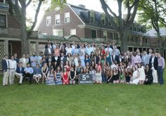 5th year reunion group photo. Reunion 2014 at the Loomis Chaffee School.