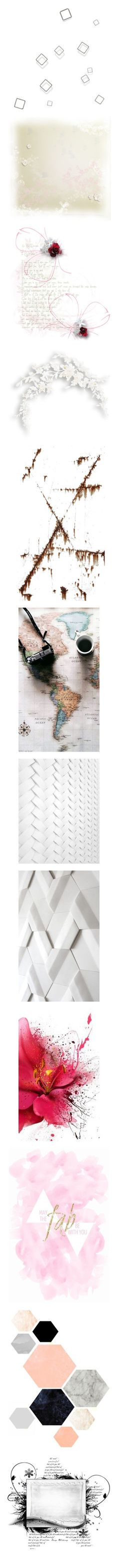 """""""Backgrounds"""" by borislava-zo3bi ❤ liked on Polyvore featuring fillers, effects, backgrounds, overlays, special effects, text, quotes, texture, embellishment and borders"""
