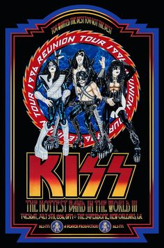 Kiss Reunion Tour New Orleans 1996