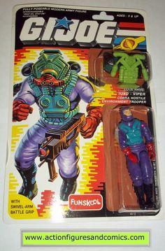 gi joe TOXO VIPER cobra 1988 1999 funskool hasbro toys moc mip mib action figures