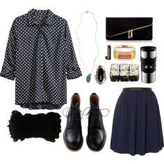 """Office Goth # 34"" by goth-proxy on Polyvore"