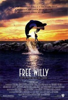 Free Willy...i have the first 3 and think there is another one! Free Willy Movie, Family Movie Night, Family Movies, Children Movies, Cinema Paradiso, 1990s Movies, Movie Poster Art, About Time Movie, My Childhood Memories