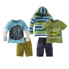 Tea Collection Boys 5-Piece Set