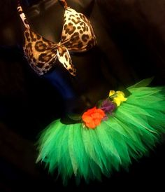 Katy Perry inspired neon Tutu Set  Roar Costume by tutufactory, $37.00