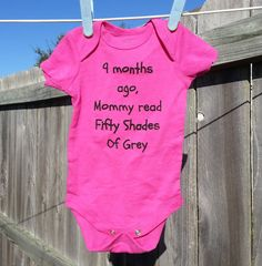 Options availabe  Cute/Funny onesie by TexasGalsShirts on Etsy, $15.00