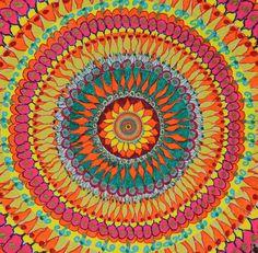 pureblindingcolour:  :::::Daisy Mandala by pureblindingcolour