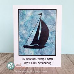 A quick share today. I have a second card made with the rest of the Alcohol ink background I shared last week. Water Challenge, Simply Stamps, Worst Day, Day Work, Masculine Cards, I Card, Stamping, Card Making, Alcohol
