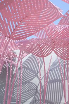 Le Refuge, a pink, jungle-like daybed designed by Parisian/Italian artist and designer Marc Ange at the Wallpaper* Handmade exhibition space in collaboration with The Invisible Collection and Green Gallery Source by erdemirtuba Wallpaper Hp, Pastel Wallpaper, Wallpaper Backgrounds, Kawaii Wallpaper, Laptop Wallpaper, Black Wallpaper, Photo Wall Collage, Picture Wall, Wallpapers Rosa