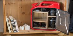 Jerry Can Cabinet Plans DIY Portable Canister Mini Bar Carrier Organizer