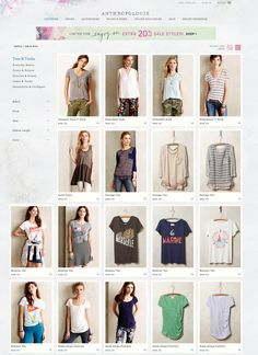 Anthropologie - Tops - mix of model & hung product