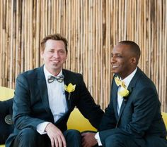 """From Equally Wed.  11 Best """"Real (Gay!) Weddings"""" Looks from 2011"""