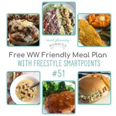 Delicious FREE WW dinner meal plan low in WW FreeStyle SmartPoints. Weight Watchers Meal Plans, Weight Watchers Desserts, Best Healthy Dinner Recipes, Recipe Builder, Free Meal Plans, How To Make Salad, Ww Recipes, Meal Planning, Healthy Eating