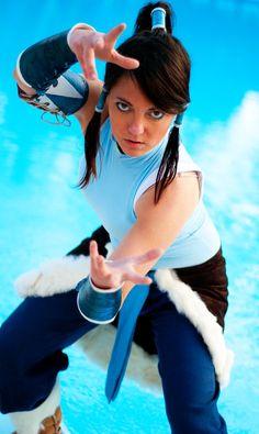 Legend of Korra Cosplay Photoshoot Midoricon by ~voodooo-dolly