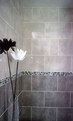 19 tiny mosaic border tiles for shower walls - DigsDigs