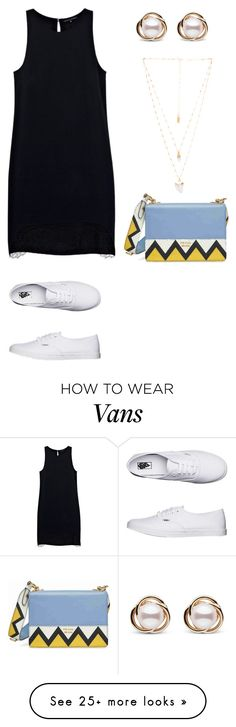 """Sem título #1640"" by malu-880 on Polyvore featuring Justicia Ruano, Vans, Prada, Natalie B and Trilogy"
