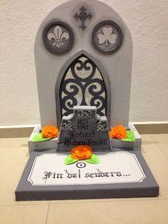 Tumba Día de muertos - Day of the dead's tombstone