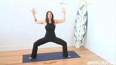Yoga: video tutorial: how to do Goddess Pose