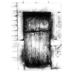 Fine Art Drawing, Art Drawings, Farm Door, Sketch A Day, Shop Art, Old Farm, Uk Shop, Surface Design, Fine Art Prints