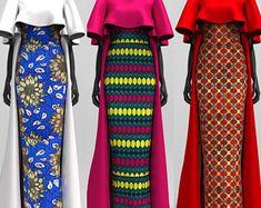 Fabriqué sur mesure Cap et deux pièce bustier: choisissez votre tissu (tapis de bal/mariage/rouge)