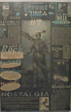 Front Zine Nº 07 publicado pelo Clube dos Quadrinheiros de Manaus no extinto Jornal do Norte em 09 de março de 1996 com autoria de Fábio Prestes, João Vicente, Mário Orestes Silva e Daniel Dante.