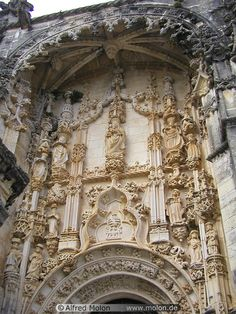 Convent of  Ordem de Cristo, Tomar, Portugal! #PORTUGALmilenar