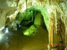 Rajko's cave, East Serbia. East Serbia's most beautiful cave