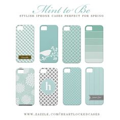 Mint iPhone Cases