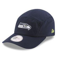 Seattle Seahawks New Era On Field Training Camp Runner Adjustable Hat - Navy 752b8165be9