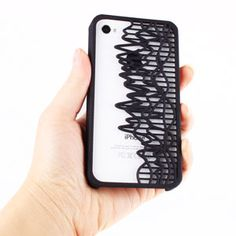 The Vibe iPhone Case: 3D print a custom iPhone case with your favorite sound from Soundcloud.