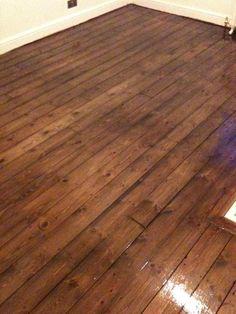Old Pine Slivers Fill Floorboard Gaps Gap Seal Wood