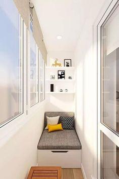Stylish Balcony Decor Ideas: 21 Cozy And Stylish Small Balcony Design Ideas Small Balcony Decor, Small Balcony Design, Balcony Ideas, Balcony Window, Bedroom Balcony, Balcony Railing, Small Patio, Room Deco, Apartment Balcony Decorating