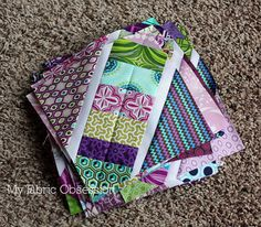 Another great block to use up scraps I really like this one.