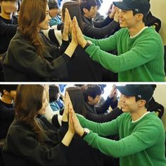 Lee Dong Wook and Lee Da Hae received hotel service training to make their new MBC drama 'Hotel King' as realistic as possible! Lee Da Hae, Lee Dong Wook, Mbc Drama, Hotel King, Hotel Services, Korean Drama Movies, World History, Kdrama, Kpop