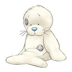 Тюлень Картинка Рисунок Seal Hallmark Blue Nose Frends Teddy Me to You Tatty Teddy, Illustration Mignonne, Cute Illustration, Animal Drawings, Cute Drawings, Cute Images, Cute Pictures, Cartoon Mignon, Baby Animals