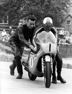 "Mike ""The Bike""  & the Honda RC181"