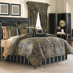 Paul's Home Fashions has a an Additional Discount Coupon at Checkout on All J Queen New York, Piper & Wright, Oscar & Oliver, Royal Court nad Five Queens Court Bedding Collections Teal Comforter, Queen Comforter Sets, Bedding Sets, Gold Bedding, Bedding Master Bedroom, Bedroom Suites, Bedroom Wallpaper, Dream Bedroom, Queens New York