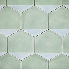 The Design Edit: 10 Gorgeous Room-Transforming Tiles - These Casa hexagonal tiles by Marrakech Design can be arranged in a variety of ways.