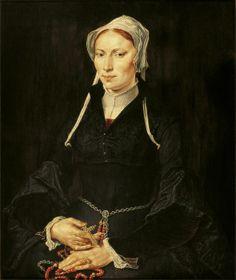 """""""Pintura de la monja Gerritsdr Hillegond"""" Maerten Van Heemskerck"""