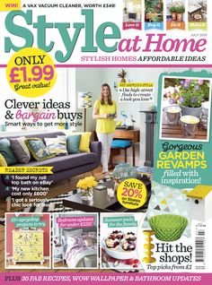 July 2015 Style At Home Magazine