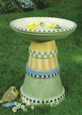 Image Search Results for pictures of homemade bird bath