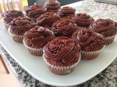 Gluteenittomat (ja halutessa maidottomat) suklaakuppikakut  #gluteeniton #maidoton #suklaa