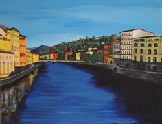 River Arno. Firenze Italy - Bruce Goodchild