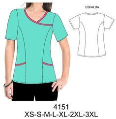 Dental Health Important Dental Scrubs, Scrubs Pattern, Sewing Sleeves, Corporate Uniforms, Medical Uniforms, Fashion Design Sketches, Dress Sewing Patterns, Fashion Sewing, Diy Clothing