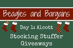 Stocking Stuffer Giveaway Day 1: Alcott Collar and Leash Set #sponsored | http://www.beaglesandbargains.com/stocking-stuffer-giveaway-alcott-collar-leash-set/