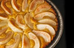 Pear Almond Cake  This light and luscious cake is the perfect ending to any holiday meal.