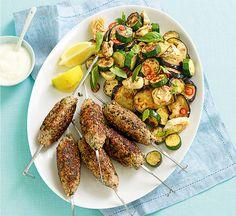 Coriander-spiced lamb koftas - Healthy Food Guide